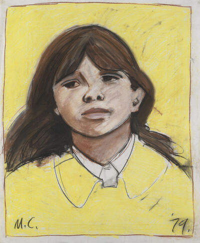 Maurice Cockrill, 'Study for Lime Street girl', 1979