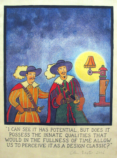 Glen Baxter, 'I can see it has potential', 2006