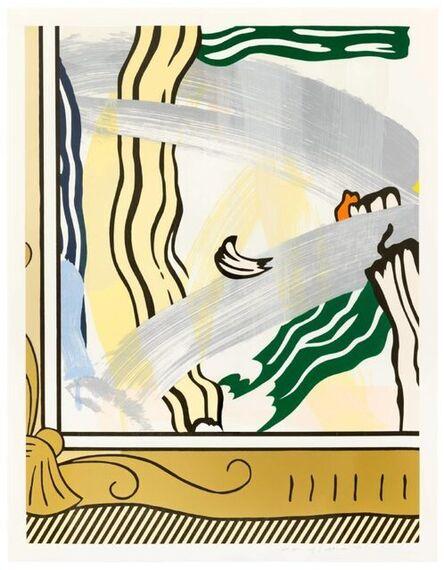 Roy Lichtenstein, 'Painting in a Gold Frame', 1984