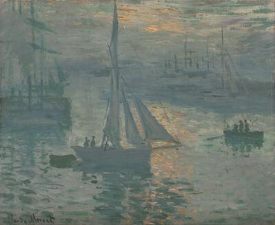 Claude Monet, 'Sunrise (Marine)', 1873