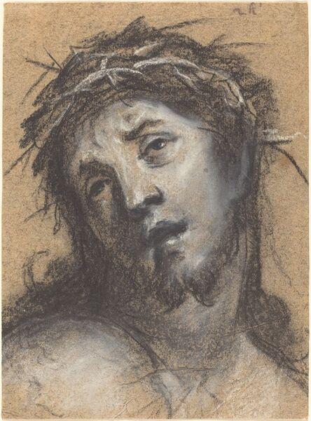 Johann Ulrich Mayr, 'Head of Christ', ca. 1670