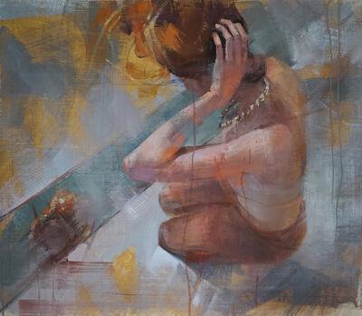 Fanny Nushka Moreaux, 'Julia - On her knees'