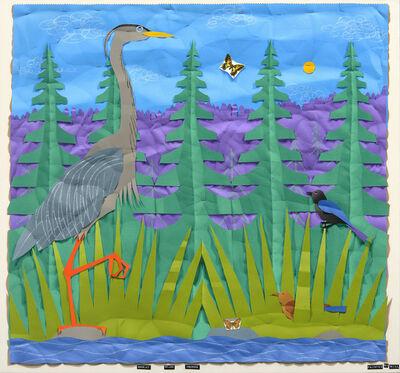 Bill Braun, 'Great Blue Heron'