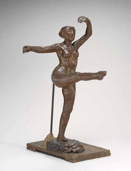 Edgar Degas, 'Fourth Position Front, on the Left Leg', ca. 1885/1890