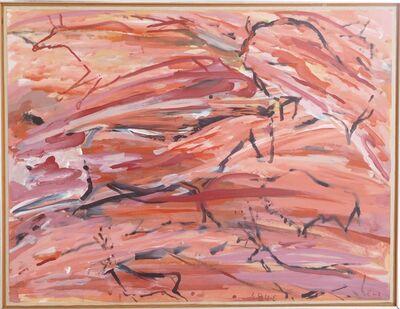 Elaine de Kooning, 'Horses at Pech-Merle (Cave #20)', 1984