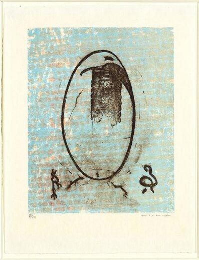 Max Ernst, '...dressait sa flamboyante énigme....', 1971