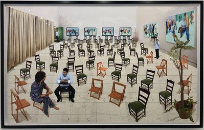 David Hockney, 'The Chairs', 2014