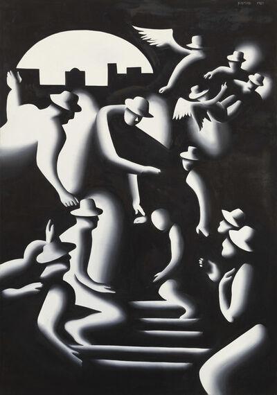 Mark Kostabi, 'Reconstruction', 1989