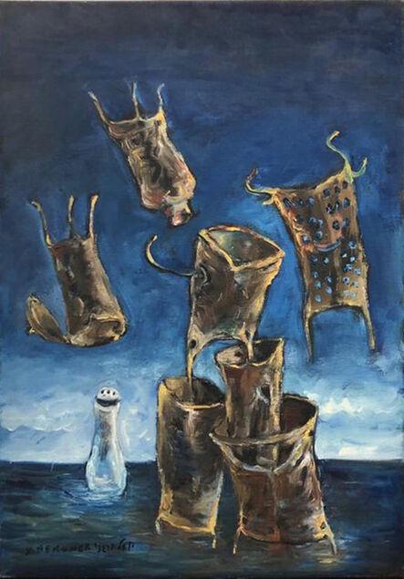 Yosl Bergner, 'Flying Tools', 1998