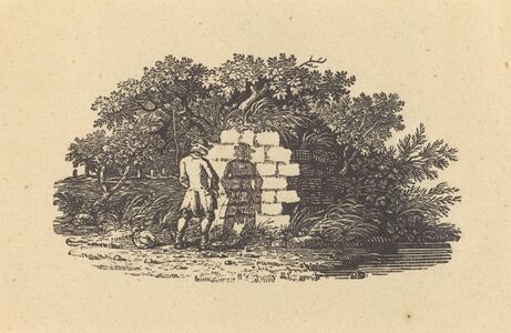 Thomas Bewick, 'Man Pissing', ca. 1815