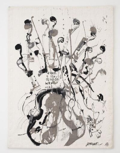 Arman, 'Trio a cordes II ', 1987