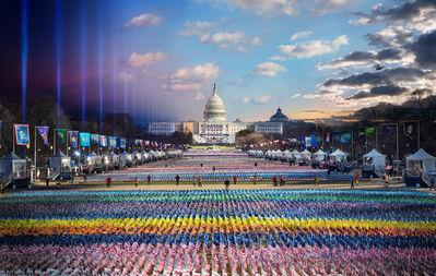 Stephen Wilkes, 'Biden Harris Inauguration, Washington D.C., Day to Night', 2021