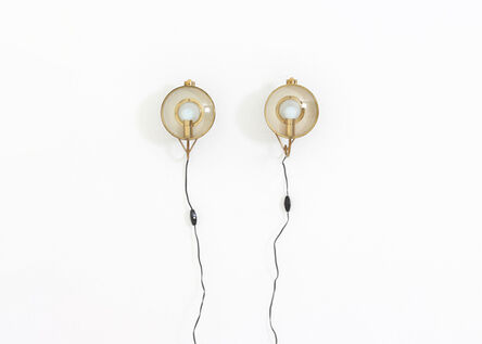 Angelo Lelii, 'Pair of wall lamps by Angelo Lelii', 1960-1969
