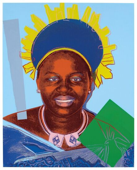 Andy Warhol, 'Queen Ntombi Twala of Swaziland (F.S. II. 347)', 1985