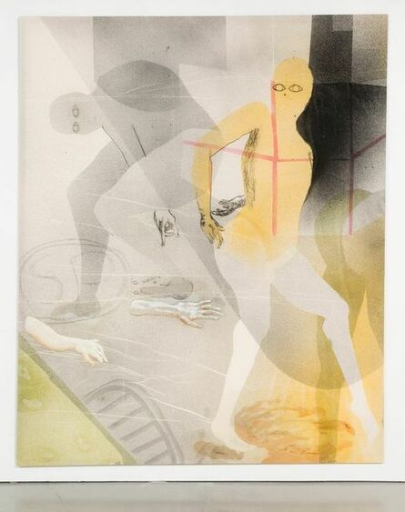 Matthew Lutz-Kinoy, '6:00 Saturday night at the Largo do Arouche', 2015