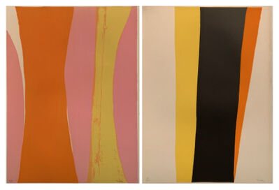 Cleve Gray, 'Untitled 44, Untitled 56 (Two Works)', 1970