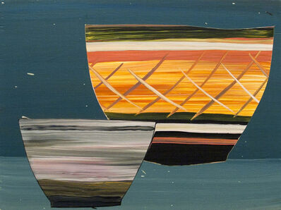 Paul Wackers, 'Bowls (blue)', 2013