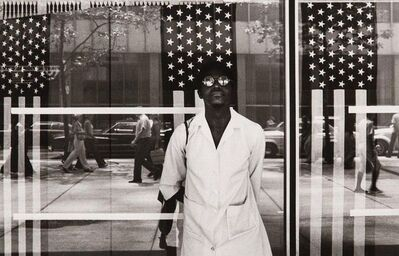 Ming Smith, 'America Seen Through Stars and Stripes, New York City, NY', 1976