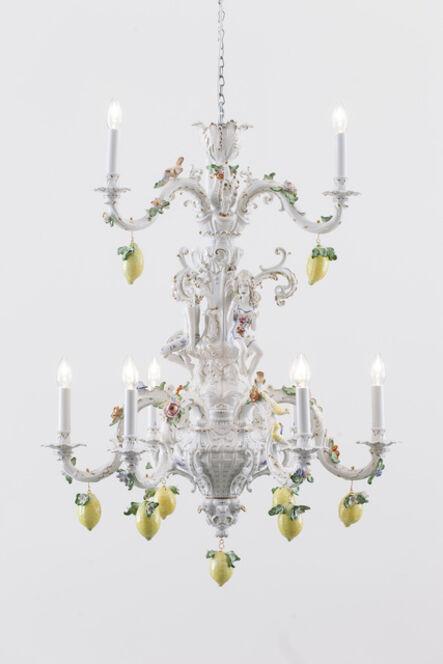 Chris Antemann, 'Lemon Chandelier [Courtesy MEISSEN COUTURE®Art Collection.]', 2014