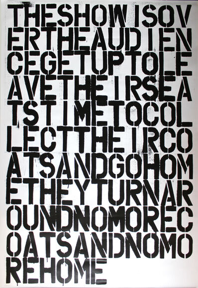 Christopher Wool, 'Untitled', 1993-2014