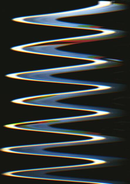 Carsten Nicolai, 'Chroma wellenform (Scan 9)', 2015