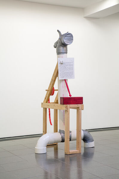 Jimmie Durham, 'The Guardian (Free Tickets)', 1992