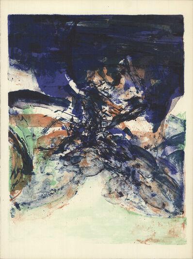 Zao Wou-Ki 趙無極, 'Hommage to San Lazzaro', 1975