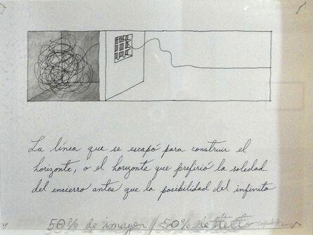 Lázaro Saavedra, '50 % text, 50 % image', 2012