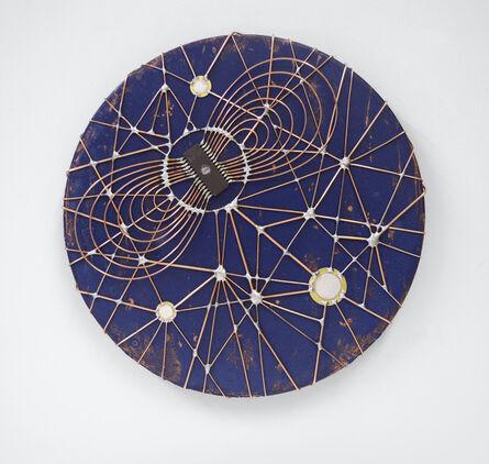 """Leonardo Ulian, 'Microchip synapses 19 - """"Planitas""""', 2015"""