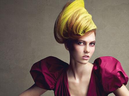 Patrick Demarchelier, 'Karlie Kloss, Dressed Up Face, New York, Vogue', 2009