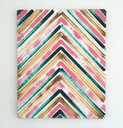 Ulrik Weck, 'Black, Pink, Green, Brown', 2016