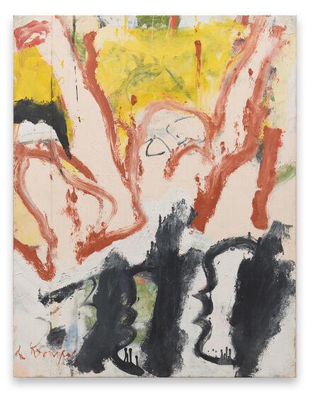 Willem de Kooning, 'Untitled (Man in Water)', 1970