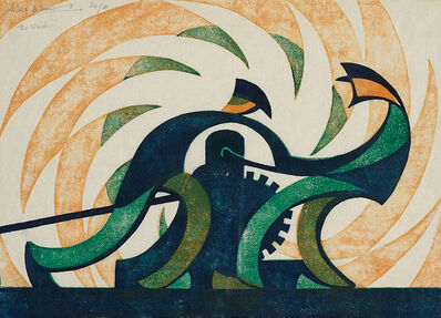 Sybil Andrews, 'The Winch', 1930