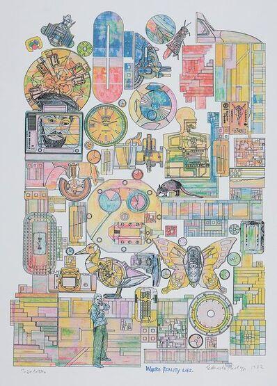 Eduardo Paolozzi, 'Where Reality Lies', 1982