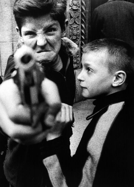 William Klein, 'Gun 1, New York', 1955