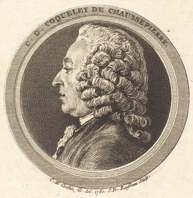 Jean Francois Rousseau after Charles-Nicolas Cochin II, 'Charles-Georges Coqueley de Chaussepierre', 1780