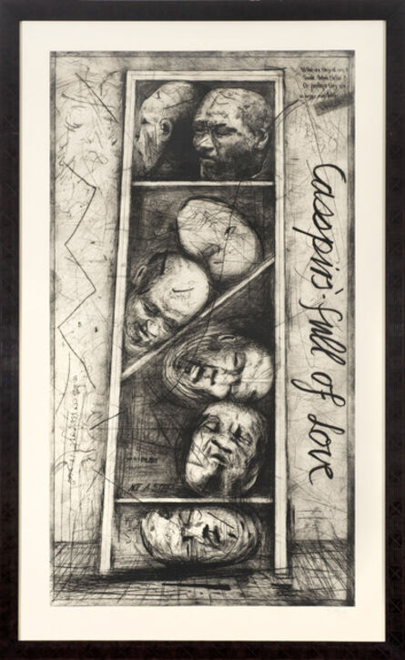 William Kentridge, 'Casspirs Full of Love', 2000