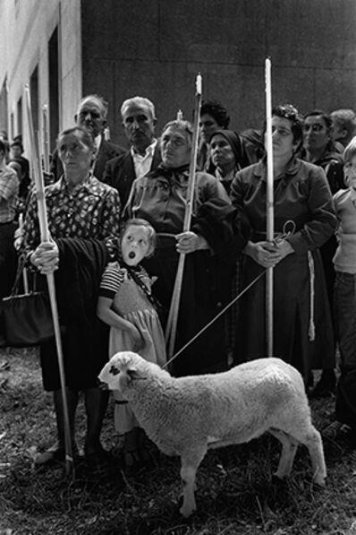 Cristina Garcia Rodero, 'El Ofertorio, Amil, Spain', 1979