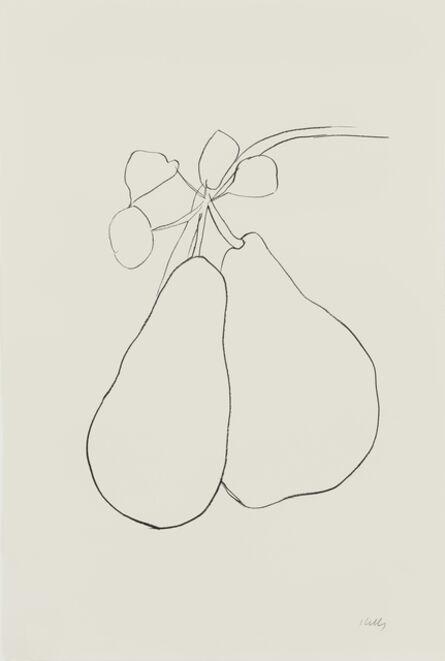 Ellsworth Kelly, 'Pear II', 1965-66