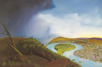 Purdy Eaton, 'The Oxbow', 2008