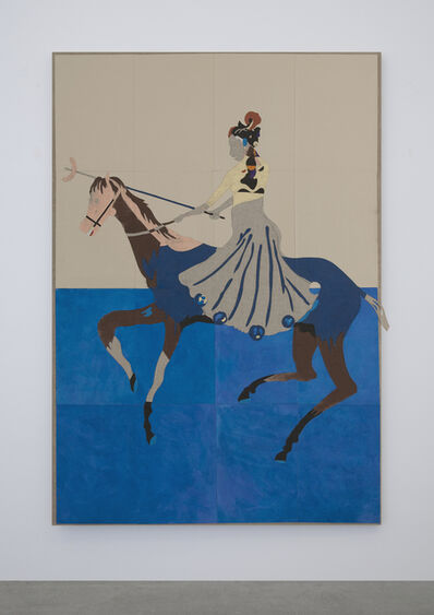 Kaspar Oppen Samuelsen, 'You Invented The Statues, But We Control The Horses #2', 2017