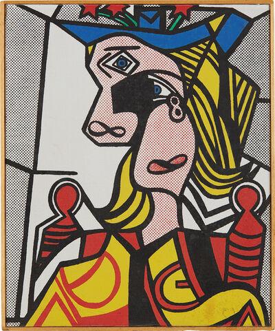 Richard Pettibone, 'Roy Lichtenstein, Woman with Flowered Hat, 1963', 1970