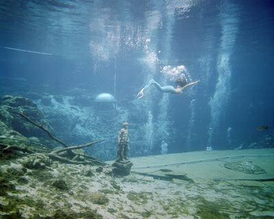 Rachel Louise Brown, 'The Mermaid. Weeki Wachee Springs.', 2017