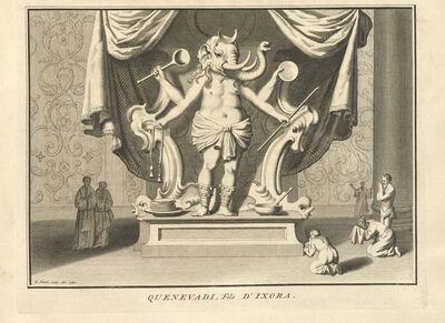 Bernard Picart, 'Quenevadi, Son of Ixora', 1723-1743