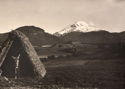 Hugo Brehme, 'Popcatepetle, Mexico', ca. 1920