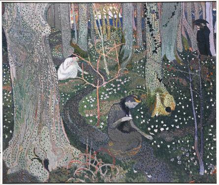 Maurice Denis, 'Avril (Les anémones)', 1891