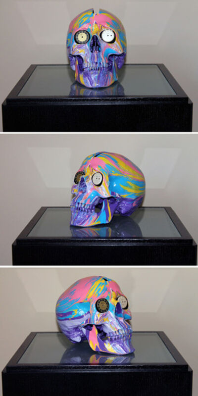 Damien Hirst, 'The Hours Spin Skull #1', 2009