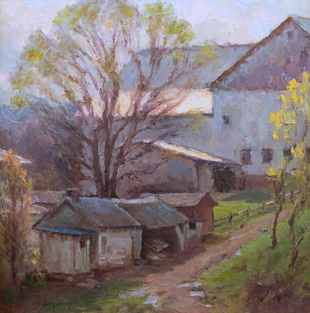 Mark Gingerich, 'Spring at the Farm', ca. 2020