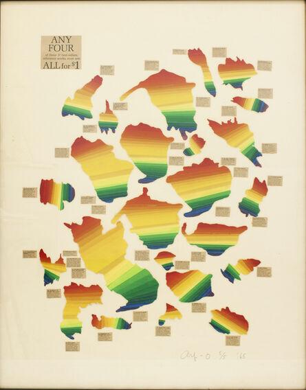 Ay-O, 'Animated Rainbow 7', 1965