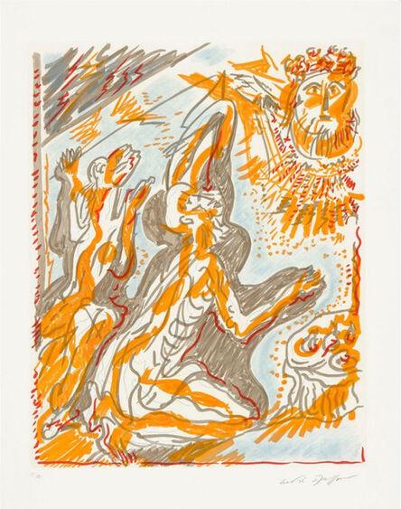 """André Masson, ' Philémon et Baucis des """"Amants Célèbres""""', 1979"""